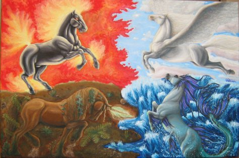 Horses_of_the_Four_Elements_by_Victoria888
